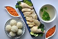 Cơm gà Hải Nam ở Singapore