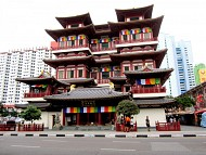 Foya Temple - Chùa Răng Phật Singapore