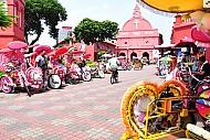 Khám phá xích lô tình yêu ở phố cổ Malacca Malaysia