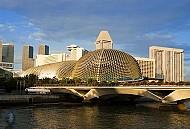 Nhà hát Esplanade hoành tráng nhất Singapore