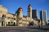 Quảng trường độc lập Merdeka tráng lệ của Malaysia
