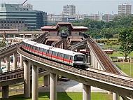Tàu điện ngầm MRT ở Singapore