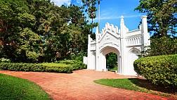Công viên Fort Canning ở Singapore