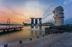 Lý giải Merlion của Singapore khi sở hữu mình cá - đầu sư tử