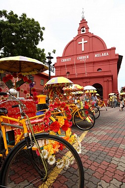 Malacca thành phố cổ kính của Malaysia