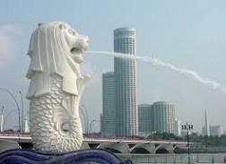 MerLion – biểu tượng du lịch của đảo quốc Singapore