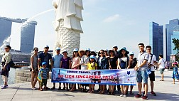 Tour Singapore - Sentosa - Garden By The Bay Khởi Hành 29/04/2017