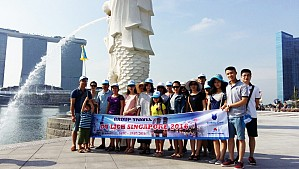 TOUR SINGAPORE - SENTOSA - GARDEN BY THE BAY Dịp 2/9