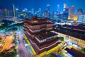 Du Xuân Singapore - Malaysia 6N5Đ Khởi Hành Mùng 1 Tết Nguyên Đán