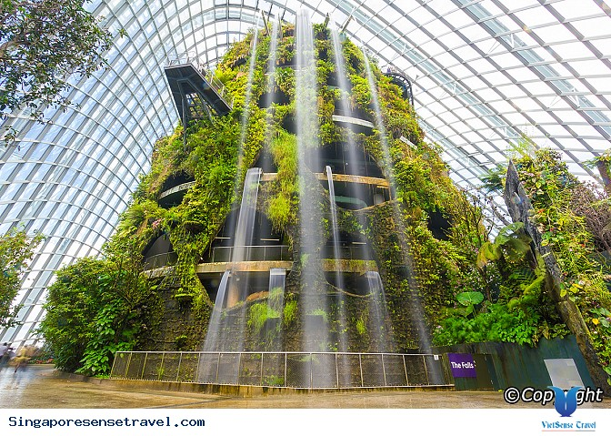 "Cloud Forest ""Rừng mây"" ở Singapore - Ảnh 1"