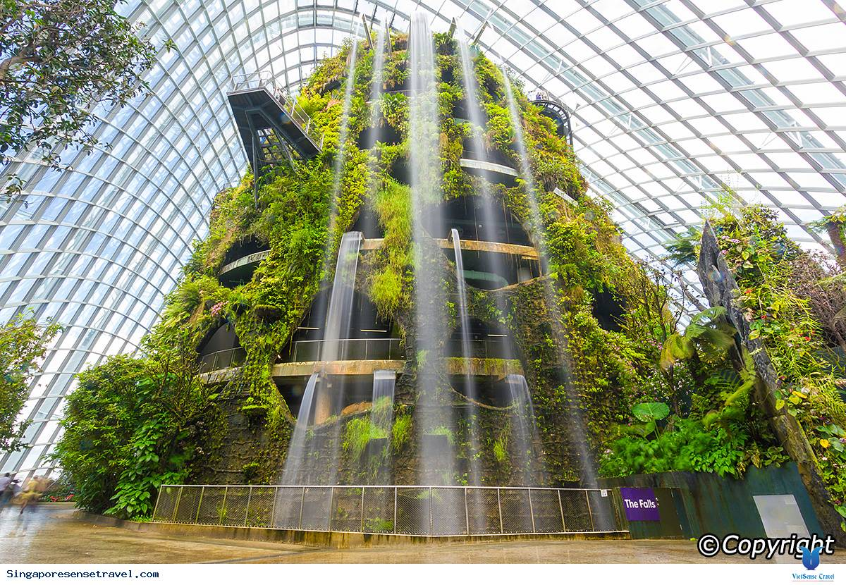 """Cloud Forest """"Rừng mây"""" ở Singapore"""