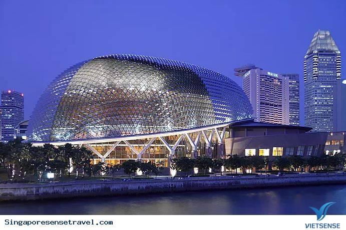 Điểm danh những tòa nhà ''siêu chất'' khi đến Singapore