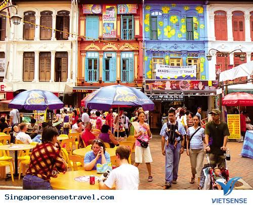 Du lịch Singapore - chinatown - nét đẹp giữa lòng Singapore