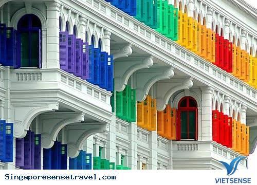 Du lịch Singapore - tòa nhà Mica