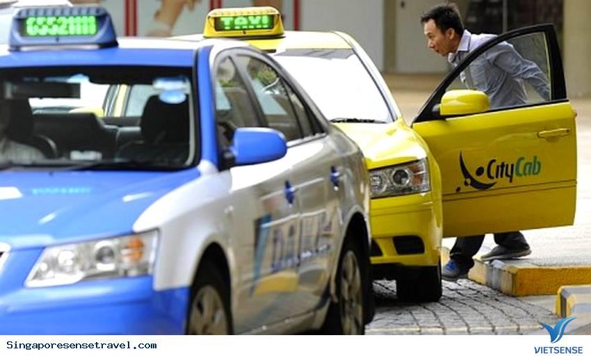 Giá cước taxi Singapore rất lạ?