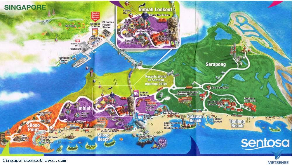 Hành Trình Một Ngày Du Lịch Bụi Tại Sentosa Singapore,hanh trinh mot ngay du lich bui tai sentosa singapore