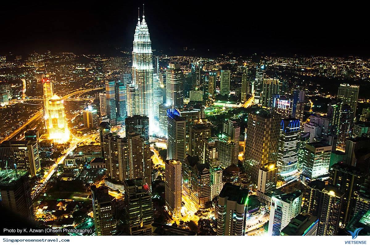 Kuala Lumpur - Malaysia hiện đại và quyến rũ