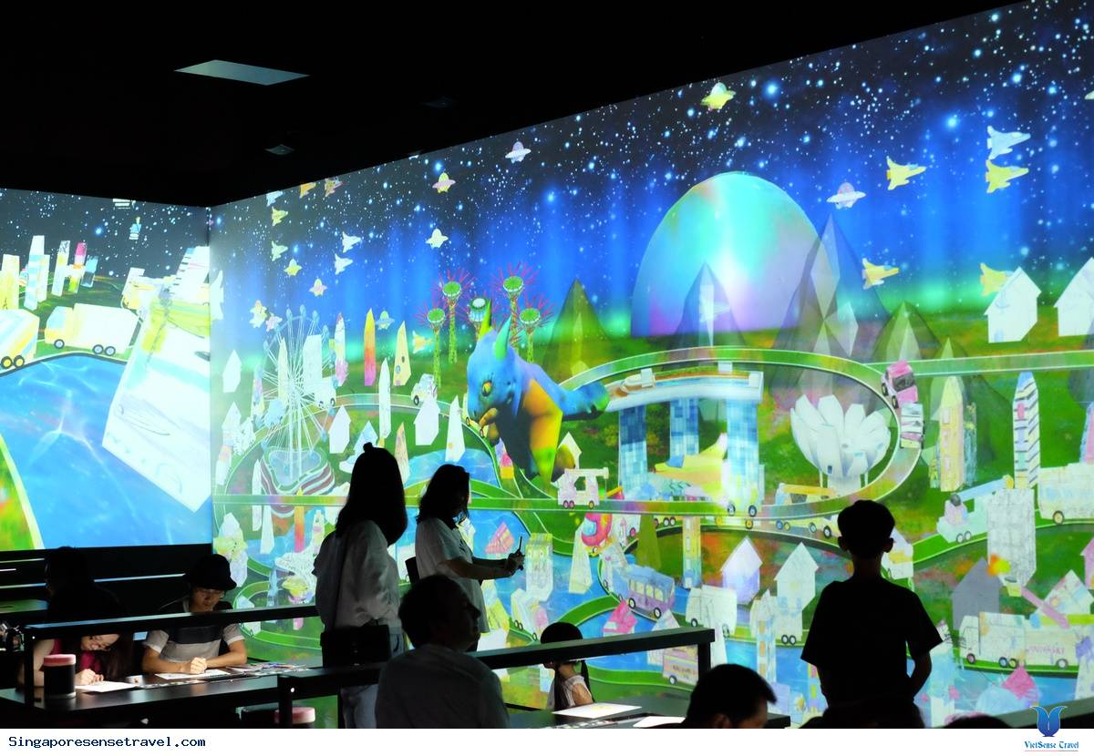 Lạc mình trong không gian ảo tại Singapore,lac minh trong khong gian ao tai singapore