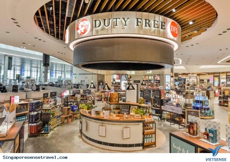 Mua hàng hoàn thuế tại Singapore
