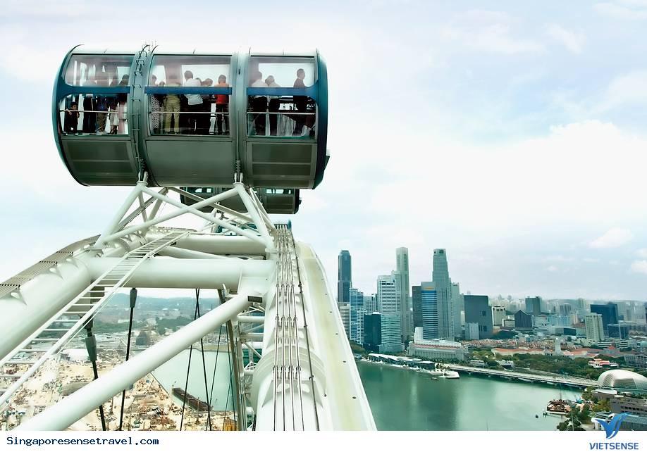 Những địa điểm lý tưởng chiêm ngưỡng cảnh đẹp Singapore từ trên cao