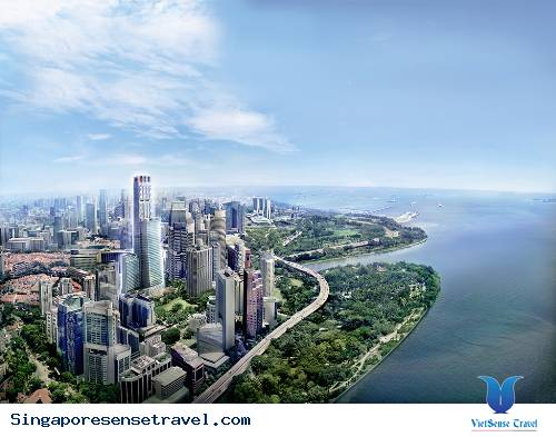 Penthouse cao nhất Singapore đẹp rực rỡ
