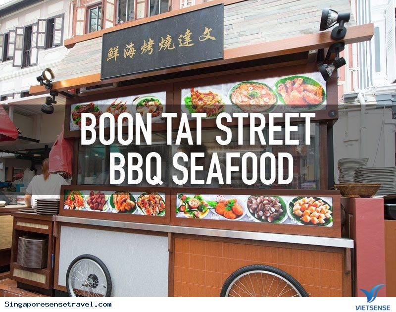 Phố ẩm thực Chinatown, Singapore có gì ngon?