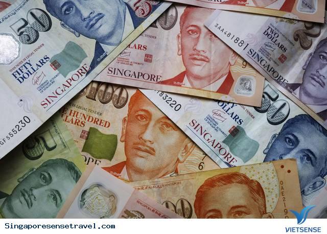 Singapore xài và dùng tiền gì ?,singapore xai va dung tien gi