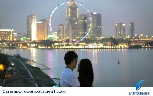 Tận hưởng ngày Lễ Tình Nhân tại Singapore