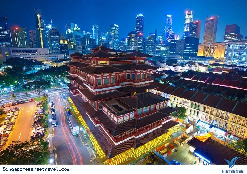 Tour Singapore đến với Sentosa - Garden by the Bay tết dương lịch
