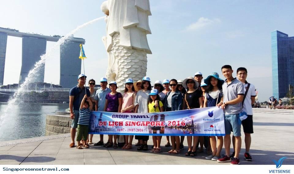 Tour Du Lịch Singapore - Sentosa 4 Ngày 3 Đêm Bay Tiger Air