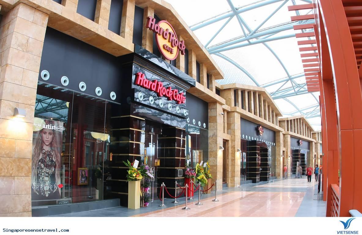 Trải nghiệm quán cà phê Hard Rock ở Sentosa