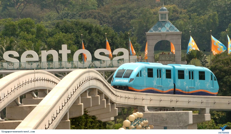 Tự túc du lịch Singapore khám phá đảo Sentosa