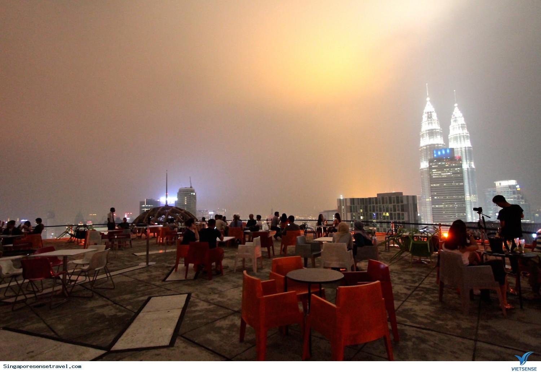Uống cafe trên đỉnh của Kuala Lumpur Thủ đô của Malaysia,uong cafe tren dinh cua kuala lumpur thu do cua malaysia