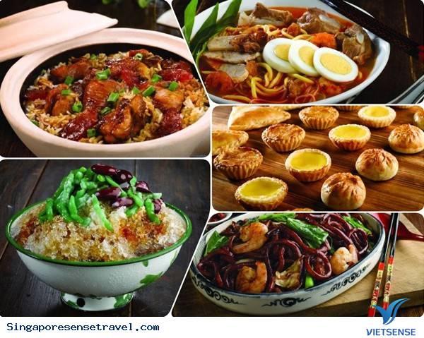 Vui chơi trong thế giới ẩm thực của Singapore,vui choi trong the gioi am thuc cua singapore