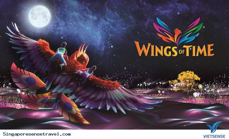 Wings of Time Đôi cánh Thời gian Tại Singapore,wings of time doi canh thoi gian tai singapore